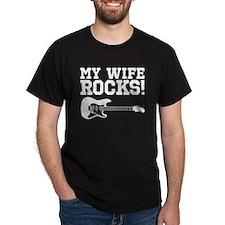 WifeRocks_DarkShirt T-Shirt