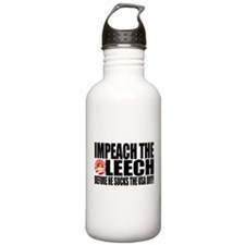 Impeach the Leech! Water Bottle