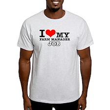Farm Manager Job Designs T-Shirt