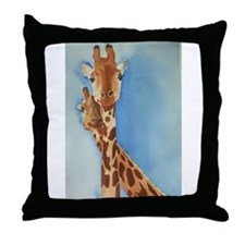 Giraffe's Throw Pillow