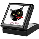 Psycho Kitty Keepsake Box