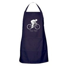 Cycling Design and Text. Apron (dark)