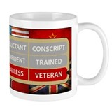 Fearless Veteran Small Mug