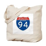 Interstate 94 - WI Tote Bag