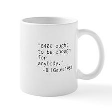 640K Bill Gates Small Small Mug