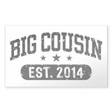 Big Cousin Est. 2014 Decal