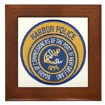 NOLA Harbor Police Framed Tile