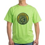 NOLA Harbor Police Green T-Shirt