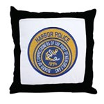 NOLA Harbor Police Throw Pillow