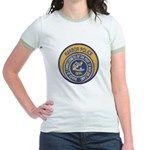 NOLA Harbor Police Jr. Ringer T-Shirt