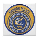 NOLA Harbor Police Tile Coaster