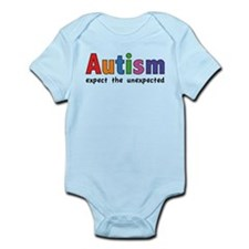 Autism Expect the unexpected Infant Bodysuit