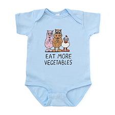 Eat more vegetables Body Suit