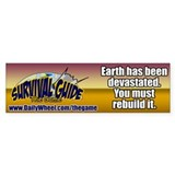 Survival Guide the Game Bumper Bumper Sticker