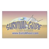 Survival Guide the Game Rectangle Decal