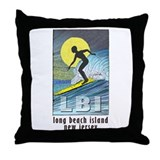 Surfer... Throw Pillow