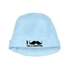 I mOustache baby hat