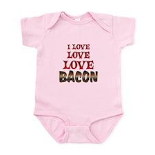 Love Love Bacon Infant Bodysuit