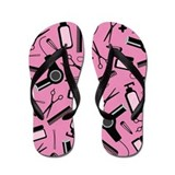 Stylist Pink Flip Flops