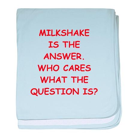 milkshake baby blanket