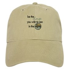Be the change2 Baseball Cap