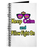 Crown Sunglasses Keep Calm And Pillow Fight On Jou
