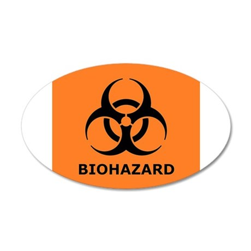 biohazard Wall Decal