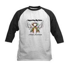 Supporting My Sister Autism Baseball Jersey