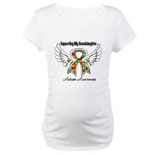 Supporting My Granddaughter Autism Shirt