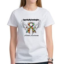 Supporting My Granddaughter Autism T-Shirt