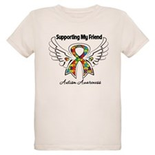 Supporting My Friend Autism T-Shirt