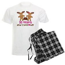 30th Anniversary Moose Pajamas