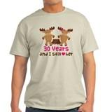 30th Anniversary Moose  T-Shirt