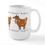 homework Large Mug