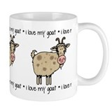 i love my goat Coffee Mug