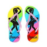 BEST DANCER Flip Flops