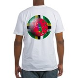 Dominica Soccer Ball Shirt