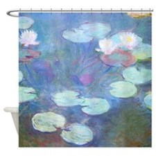 Waterlilies by Monet Shower Curtain