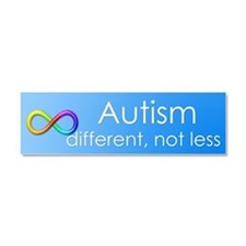 Autism. different, not less Car Magnet 10 x 3