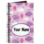 Personalized Girls Smiling Balloon Journal