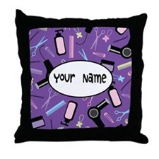 Personalized Stylist Throw Pillow