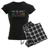Ask Me About Autism pajamas