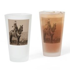 Arapaho Native American Drinking Glass