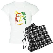 Reggae Face Color1 Pajamas