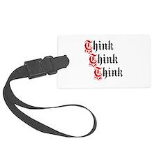 ThinkThinkThink Luggage Tag