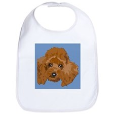 RED POODLE 1.png Bib