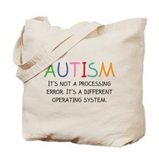Autism Operating System Tote Bag