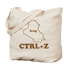 Undo Iraq Tote Bag