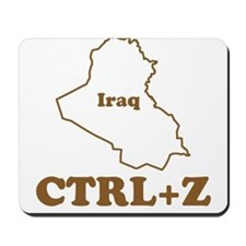 Undo Iraq Mousepad