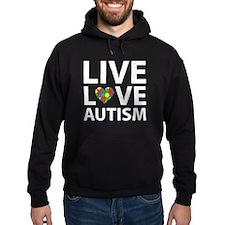 Live Love Autism Hoodie